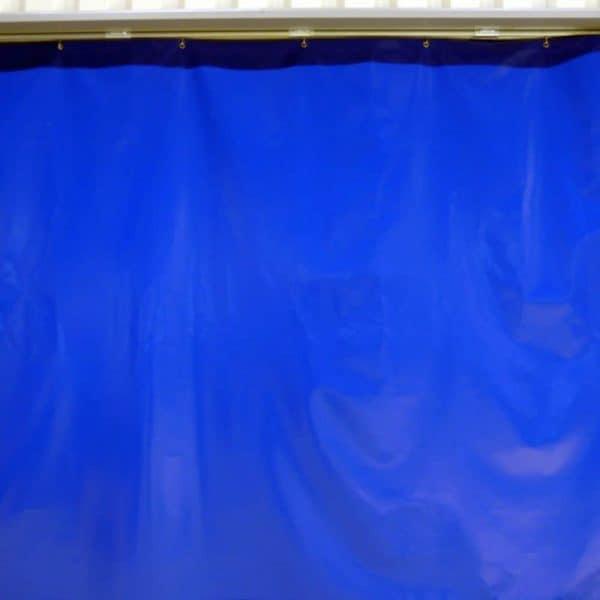 Industriegordijn Blauw op maat