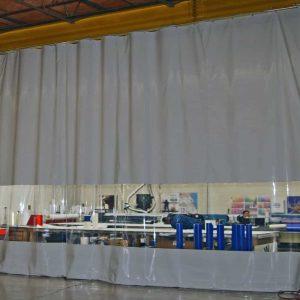 Industriegordijn Grijs Combo op maat