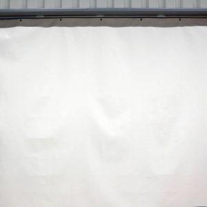 Industriegordijn Wit op maat