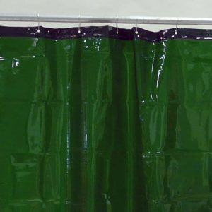 Lasgordijn Groen 130 x 160 cm x 0,4 mm
