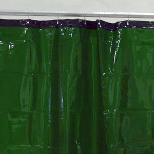 Lasgordijn Groen 130 x 180 cm x 0,4 mm