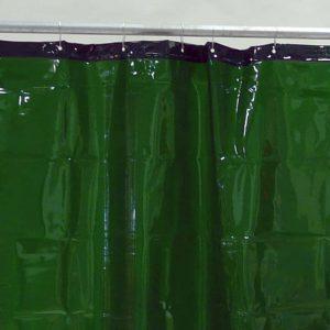 Lasgordijn Groen 130 x 200 cm x 0,4 mm