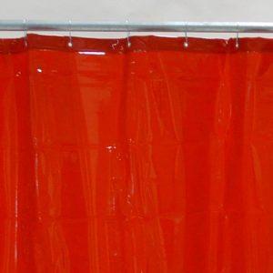 Lasgordijn Rood 130 x 160 cm x 0,4 mm