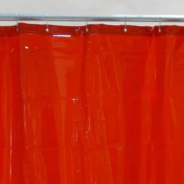 Lasgordijn Rood 130 x 200 cm x 0,4 mm