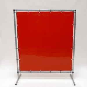 Lasscherm Folie Rood 2 mm 140 x 180 cm