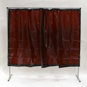 Lasscherm Gordijn Brons 200 x 200 cm x 0.4 mm