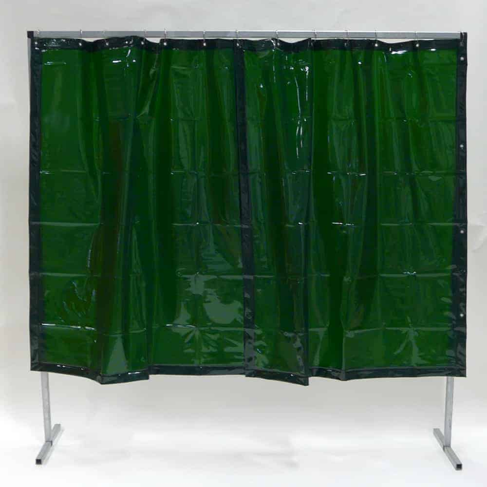 Lasscherm Gordijn Groen 200 x 200 cm x 0.4 mm > Shop EFD