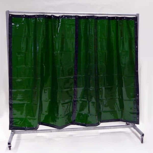 Lasscherm Gordijn Groen 210 x 200 cm x 0.4 mm