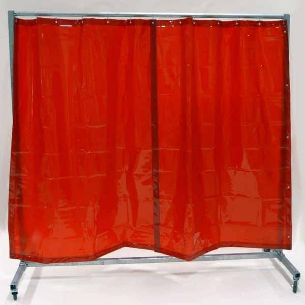 Lasscherm Gordijn Rood 210 x 200 cm