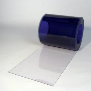 PVC Stroken Gordijn op rol Transparant 25m x 400mm x 2mm