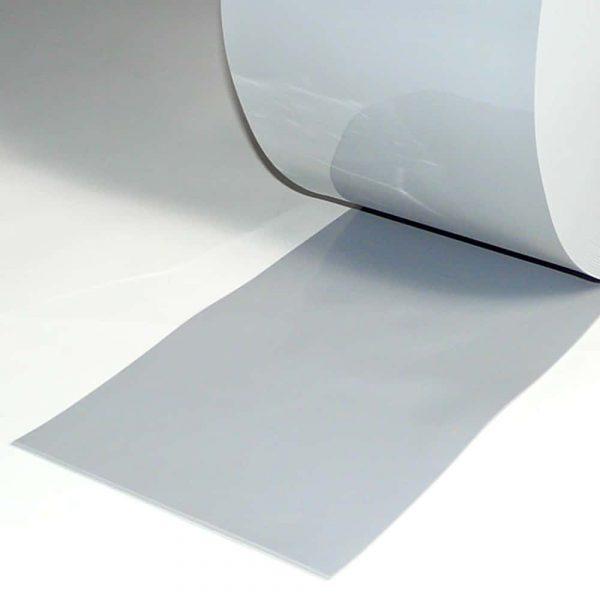 PVC Stroken per meter Grijs 200 x 2 mm
