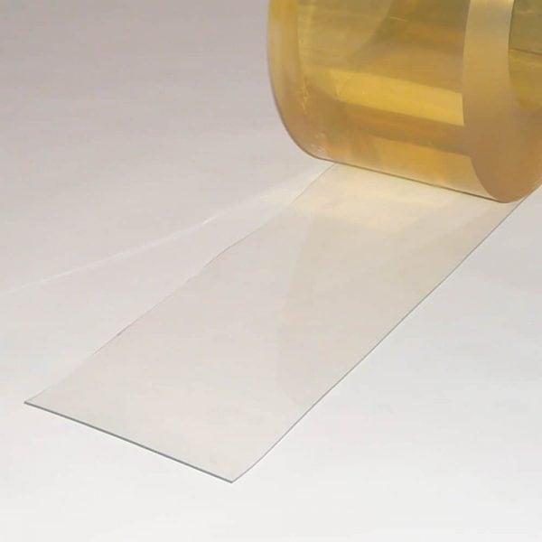 PVC Stroken Gordijn per meter Helder Transparant 200 x 2 mm