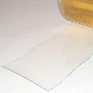 PVC Stroken per meter Helder Transparant 300 x 3 mm