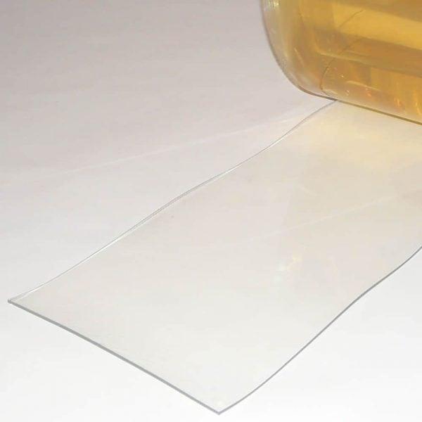 PVC Stroken Gordijn per meter Helder Transparant 300 x 3 mm