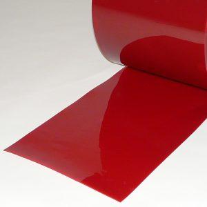 PVC Stroken Lasbescherming Rood 300 x 2 mm