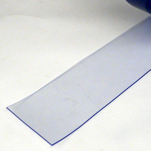 PVC Stroken per meter Transparant 100 x 2 mm
