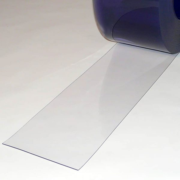 PVC Stroken Gordijn per meter Transparant 200 x 2 mm
