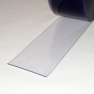 PVC Stroken per meter Transparant 200 x 3 mm