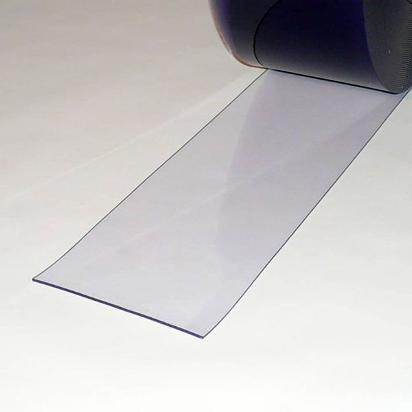 PVC Stroken Gordijn per meter Transparant 200 x 3 mm