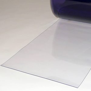 PVC Stroken Gordijn per meter Transparant 400 x 2 mm