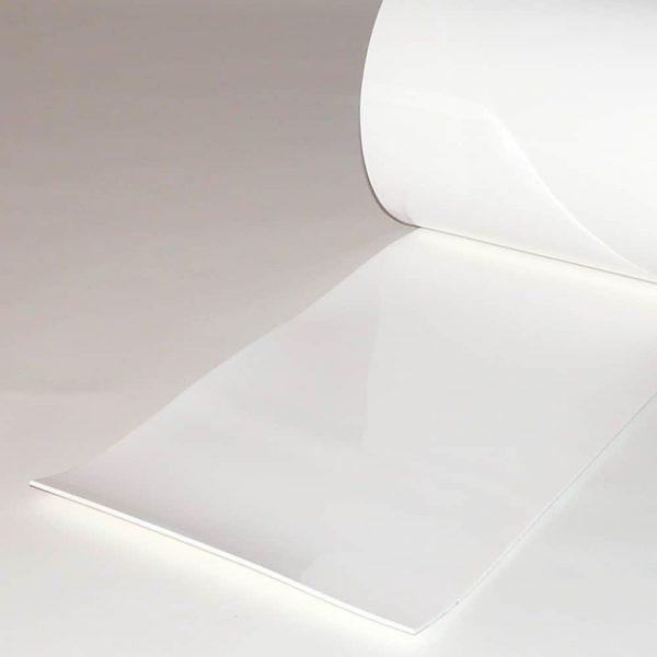 PVC Stroken per meter Wit 300 x 3 mm