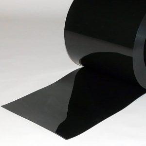 PVC Stroken per meter Zwart 300 x 3 mm