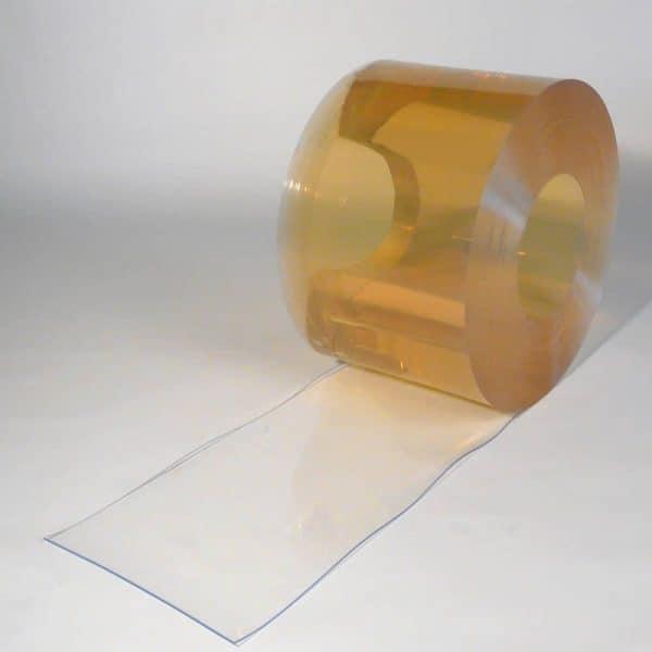 PVC Stroken Gordijn op rol Koelcel Foodsafe 50 m x 300 x 3 mm