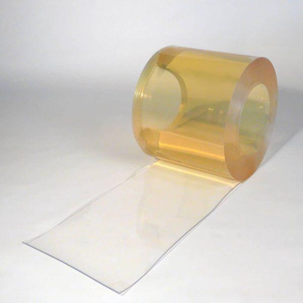 PVC strokengordijn op rol Helder Transparant 25 m x 300 x 3 mm