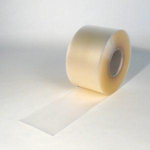 PVC Stroken Gordijn op rol Mat Transparant 50 m x 200 x 2 mm
