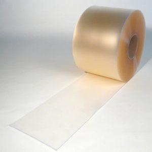PVC Stroken Gordijn op rol Mat Transparant 50 m x 300 x 3 mm