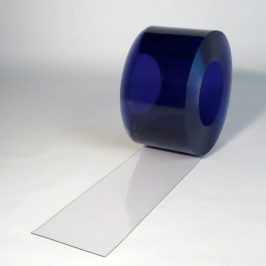 PVC strokengordijn op rol Transparant 50 m x 200 x 2 mm