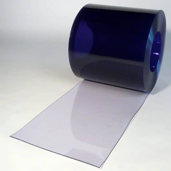 PVC strokengordijn op rol Transparant 50 m x 400 x 4 mm