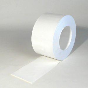 PVC Stroken Gordijn Wit op rol 50m x 200 x 2mm