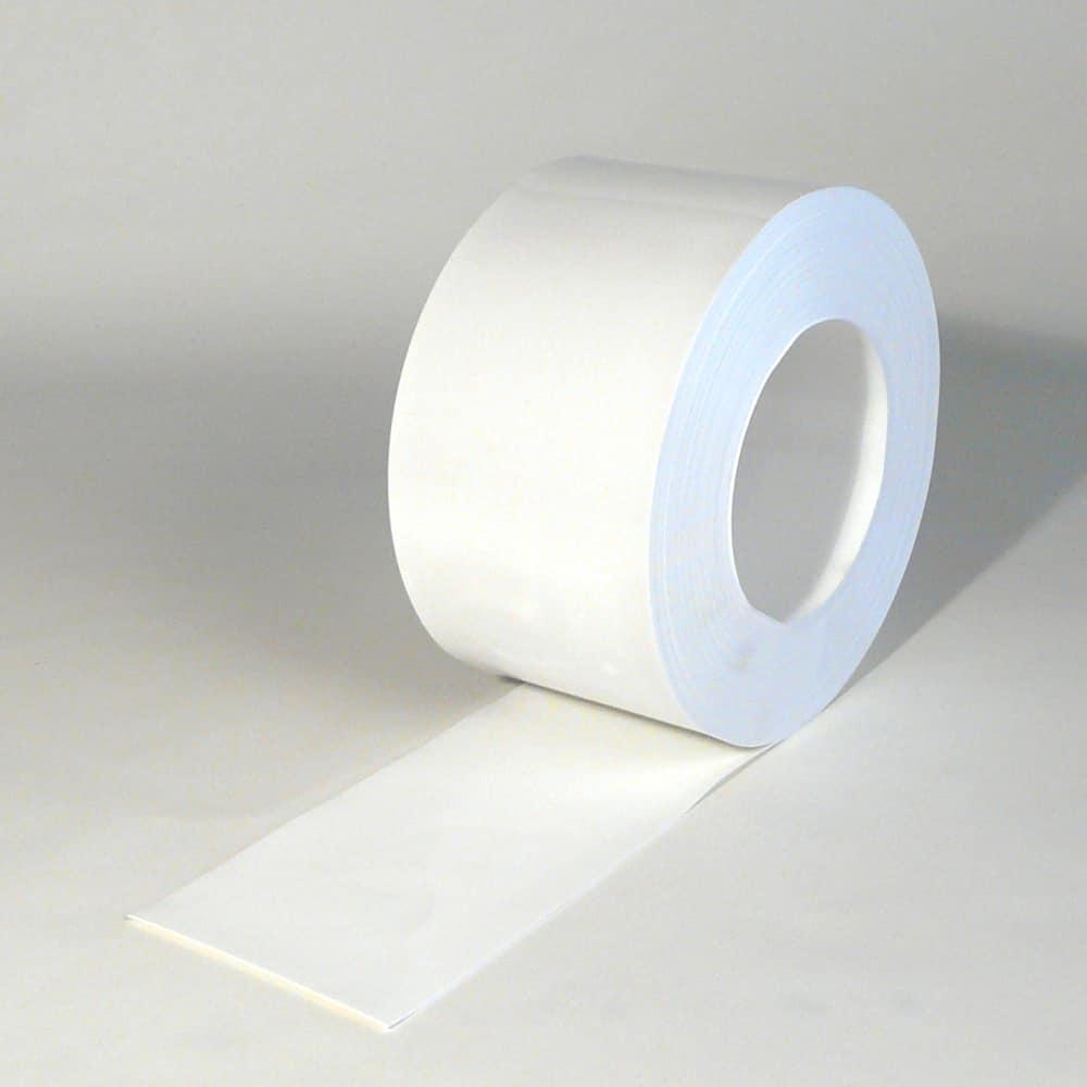 PVC Strook op rol Wit 50 m x 200 x 2 mm