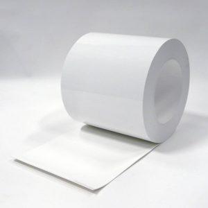 PVC Stroken Gordijn Wit op rol 50m x 300 x 3mm