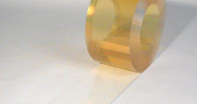 PVC Strook op rol Vriescel 50 m x 200 x 2 mm