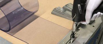 PVC gordijnstroken vervangen