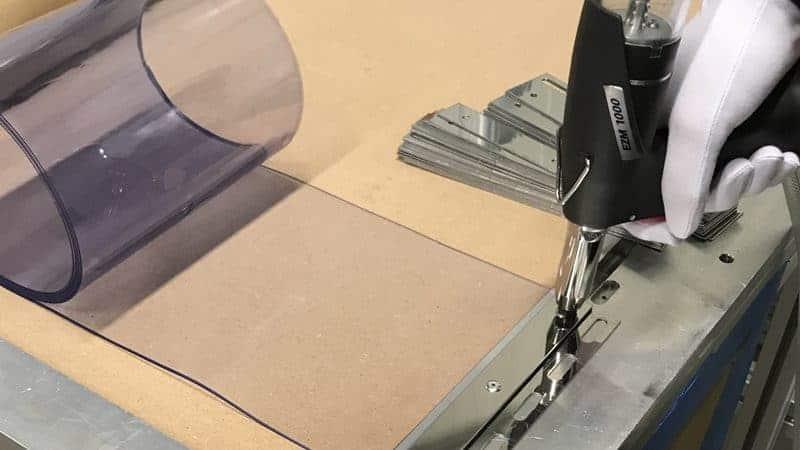 Snel & eenvoudig PVC gordijnstroken vervangen?