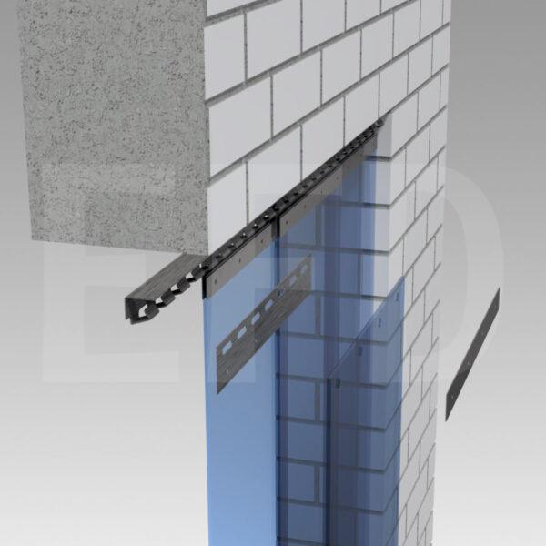Strokengordijn-Montage-RVS-Hook-On-Plafond