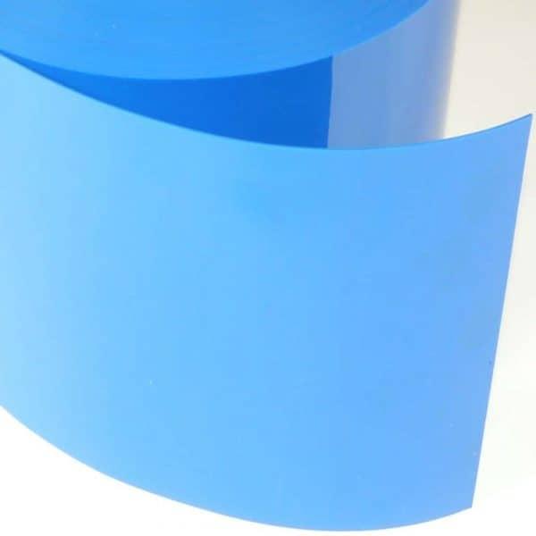 pvc stroken blauw detail