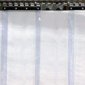 Strokengordijn 2460 x 2000 x 3 mm Strookbreedte 300 mm